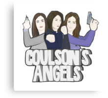 Coulson's Angels Canvas Print