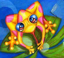 Froggy Fantastic by Alma Lee