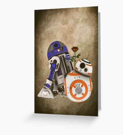 Android Love 2 Greeting Card