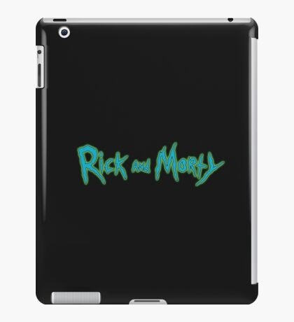 Rick and Morty Title iPad Case/Skin
