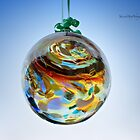 Friendship Mouth Blown Glass Ball by Yannik Hay