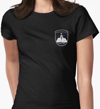 Blason sur le pec - Segpa Army Womens Fitted T-Shirt
