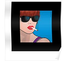 Pop Art Girl Cindy Poster