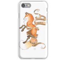 Sharpe Fox iPhone Case/Skin