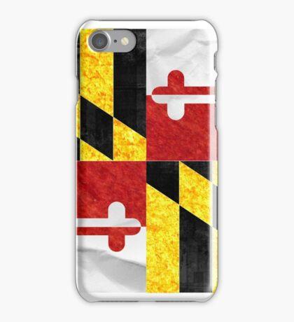 Maryland Flag iPhone Case/Skin