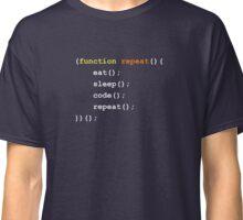 Function { Eat Sleep Code Repeat }  Classic T-Shirt