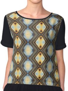 Diamonds Are A Girl's Best Friend Chiffon Top