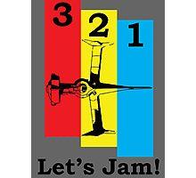 Cowboy Bebop 3, 2, 1, Let's Jam! Photographic Print