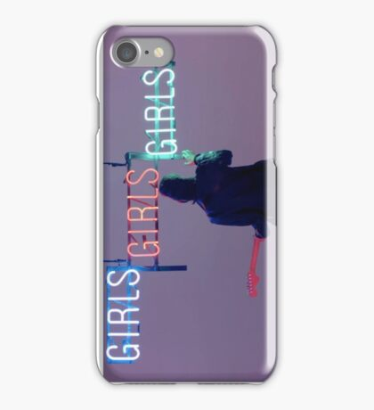 The 1975 (Matty and Girls Neon Sign) iPhone Case/Skin