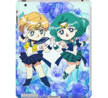 Sailor Uranus & Neptune iPad Case/Skin