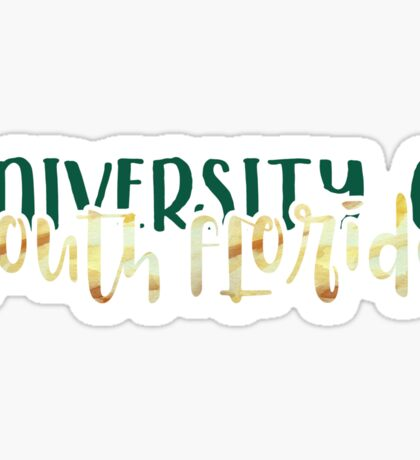 University of South Florida - Style 1 Sticker