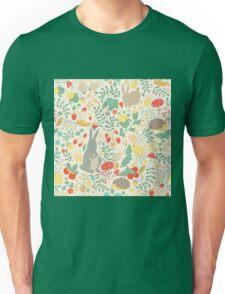 forest seamless pattern Unisex T-Shirt