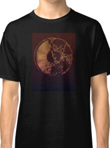 Vinyl Record Gold Explosion Classic T-Shirt