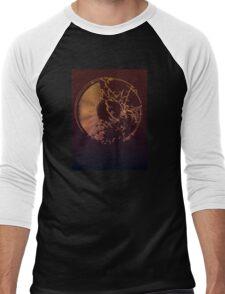 Vinyl Record Gold Explosion Men's Baseball ¾ T-Shirt