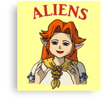 Romani Aliens Canvas Print