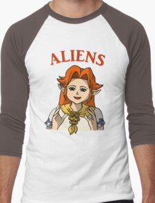 Romani Aliens Men's Baseball ¾ T-Shirt