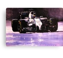 2014 Williams F1 Team FW 36 Felipe Massa  Canvas Print