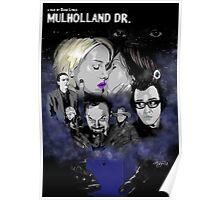 MULHOLLAND DRIVE POSTER - SILENCIO /// Poster