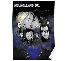 MULHOLLAND DRIVE POSTER - SILENCIO /// Poster