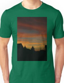 Beautiful Fall Sunset  Unisex T-Shirt