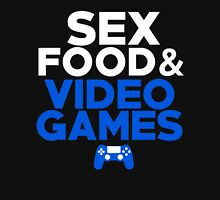 Sex, Food & Video Games - PlayStation Unisex T-Shirt