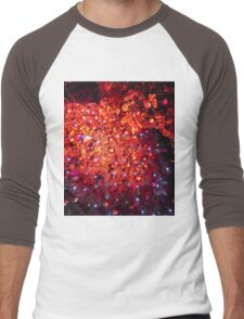 A Christmas Window Men's Baseball ¾ T-Shirt