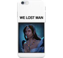 Dota 2 We Lost Sing Sing iPhone Case/Skin