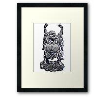 Happy Buddha | Follow Your Stars Framed Print