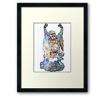 Happy Buddha | Carina Nebula Framed Print