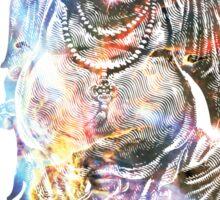 Happy Buddha   Carina Nebula Sticker