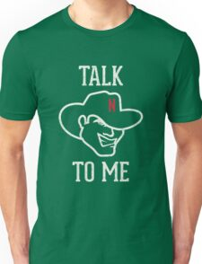 Talk Herbie to Me Nebraska Huskers - Cream and Scarlet Unisex T-Shirt