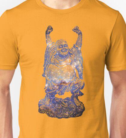 Happy Buddha   Scorpius Nebula Unisex T-Shirt