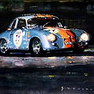 Porsche 356 A 1959 Le Mans Classic 2010 by Yuriy Shevchuk