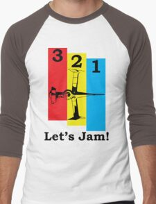 Cowboy Bebop 3, 2, 1, Let's Jam! Men's Baseball ¾ T-Shirt