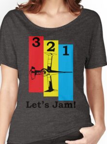 Cowboy Bebop 3, 2, 1, Let's Jam! Women's Relaxed Fit T-Shirt