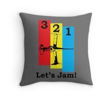 Cowboy Bebop 3, 2, 1, Let's Jam! Throw Pillow