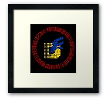 Digimon Tamers Card Symbol Framed Print
