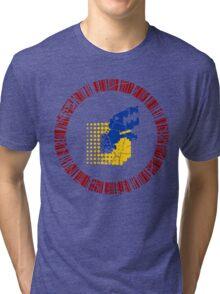 Digimon Tamers Card Symbol Tri-blend T-Shirt