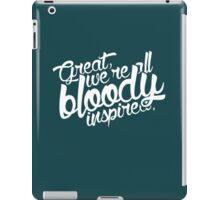 Maze Runner - Bloody Inspired iPad Case/Skin