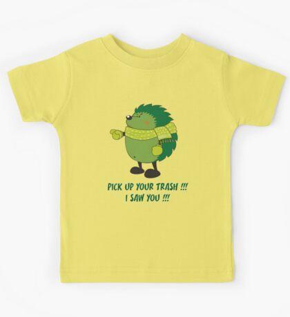 Eco Hedgehog Kids Tee