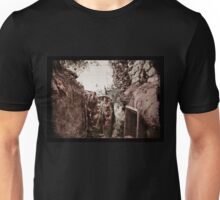 In a Woodland Trench  Unisex T-Shirt