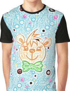 Boe the happy bear by Nikki Ellina Graphic T-Shirt