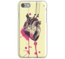Heart on strings iPhone Case/Skin