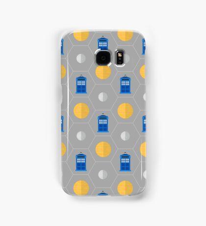 Geometric TARDIS Samsung Galaxy Case/Skin