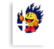 Smash Pac-Man Canvas Print