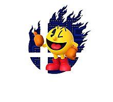 Smash Pac-Man Photographic Print