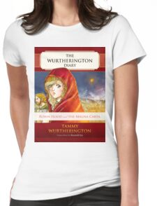 Robin Hood Cover Womens Fitted T-Shirt