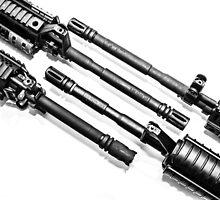 AR-15s by zingarostudios
