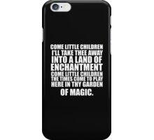 LITTLE CHILDREN WHT iPhone Case/Skin