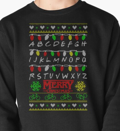 Stranger Things Ugly Sweater Pullover